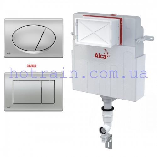 Бачок AlcaPlast AM112+клавиша