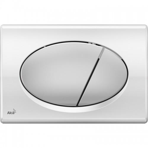 Кнопка управления AlcaPlast M73 (xром-глянец/мат)
