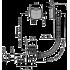 Сифон для ванны AlcaPlast A508CKM click-clack