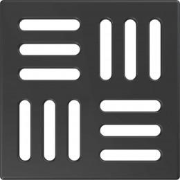 Решетка AlcaPlast MPV004-BLACK