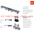 Трап для душа AlcaPlast APZ9- 750