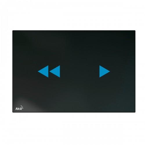 Кнопка управления AlcaPlast Night Light-2, стекло-черный