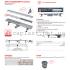 Водоотводящий желоб Alca Plast APZ13-DOUBLE9-850