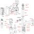Сифон AlcaPlast AKS4 для сбора конденсата под штукатурку