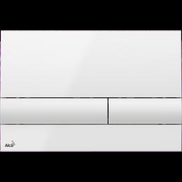 Кнопка AlcaPlast M1710 (белая)