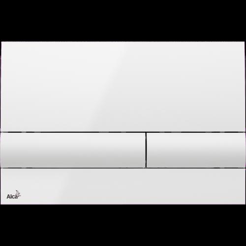 Кнопка управління AlcaPlast M1710 (біла)
