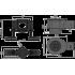 Сифон AlcaPlast APZ-S12 для водоотводящего желоба