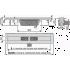 Водосточный желоб AlcaPlast APZ6-Professional- 550 Smart