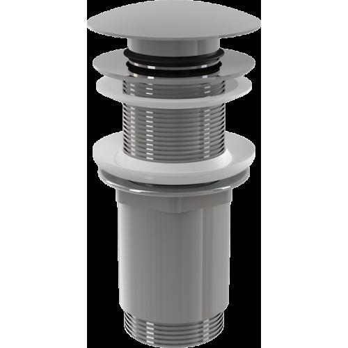 Донный клапан для раковины AlcaPlast A395 Сlick/clack без перелива