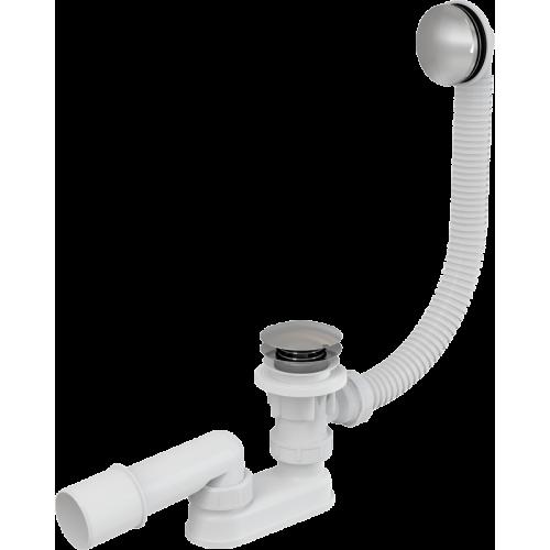Сифон для ванны AlcaPlast A504KM click-clack