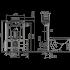 Система инсталляции Alca Plast AM118/850 Sadromodul