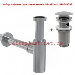 Комплект сифонов для раковины Alcaplast A400+A392