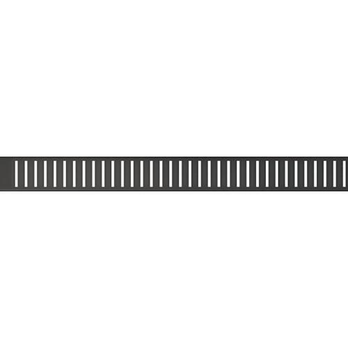 Водосточная решетка AlcaPlast PURE-BLACK- 850 (мат.)