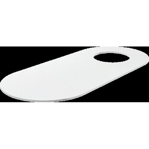 Звукоизоляционная плита для унитазов стоящих на полу и биде AlcaPlast M920